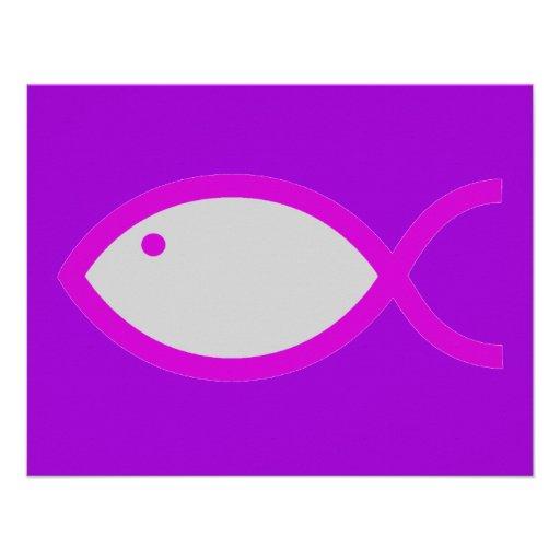 ¡Símbolo cristiano de los pescados - RUIDOSAMENTE! Comunicado Personal
