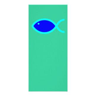 ¡Símbolo cristiano de los pescados - RUIDOSAMENTE Tarjetas Publicitarias Personalizadas