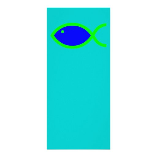 ¡Símbolo cristiano de los pescados - RUIDOSAMENTE! Tarjetas Publicitarias A Todo Color