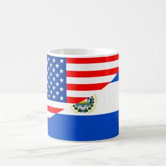 símbolo de América de la bandera del país de los Taza De Café