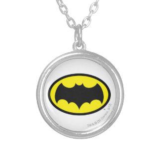 Símbolo de Batman Colgante Redondo