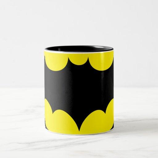 Símbolo de Batman Tazas