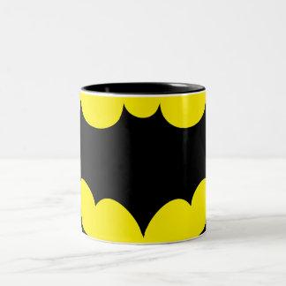 Símbolo de Batman Taza De Dos Tonos