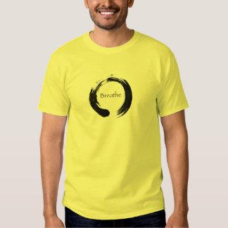 Símbolo de Enso del infinito - respire Camiseta