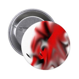 Símbolo de fantasía negro/rojo, verwaschen, pins