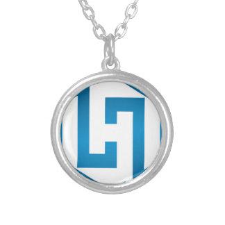 Símbolo de HachieSTEM Collar Plateado
