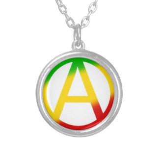 Símbolo de la anarquía de Rasta Pendiente