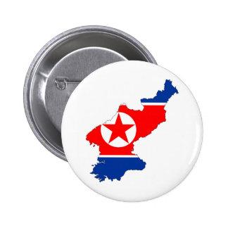símbolo de la forma del mapa de la bandera de país chapa redonda de 5 cm