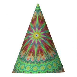 Símbolo de la mandala gorro de fiesta