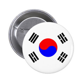 símbolo de la nación de la bandera de país de la chapa redonda de 5 cm