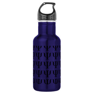 Símbolo de la psicología 16 onzas botella de agua