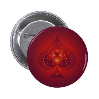 Símbolo de las espadas: Ilustraciones del vector: Chapa Redonda De 5 Cm