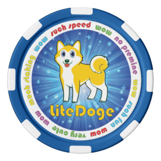 Símbolo de LiteDoge Juego De Fichas De Póquer