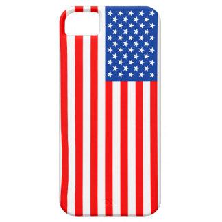 símbolo de los E.E.U.U. de la bandera de país de iPhone 5 Case-Mate Cárcasa