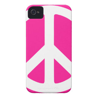 Símbolo de paz iPhone 4 carcasa