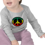 ¡Símbolo de paz para el mundo! Camiseta