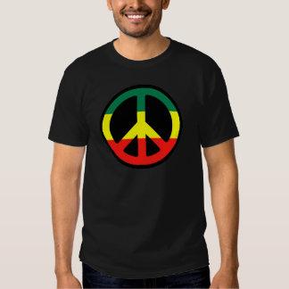 ¡Símbolo de paz para el mundo! Camisetas