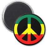 ¡Símbolo de paz para el mundo! Imán