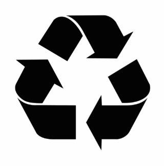 Reciclaje esculturas fotogr ficas recortes y reciclaje - Simbolo de aluminio ...