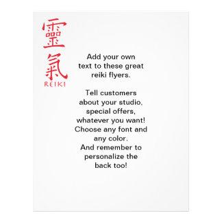 Símbolo de Reiki en tinta roja Tarjetones