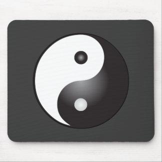 Símbolo de Yin Yang: Alfombrilla De Ratón