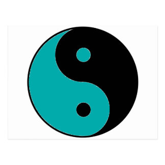 Símbolo de YIN YANG Postal
