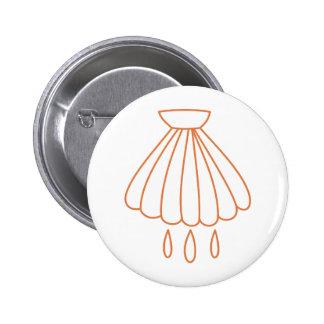Símbolo del bautismo chapa redonda 5 cm