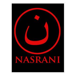 Símbolo del cristiano de Nasrani Postal