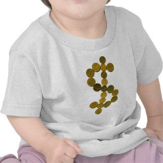 Símbolo del dólar camisetas