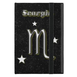 Símbolo del escorpión funda para iPad mini