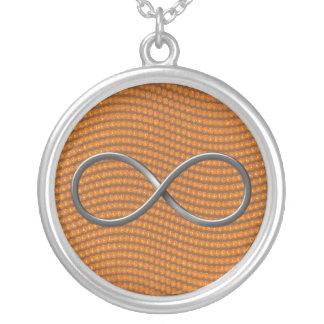 Símbolo del infinito colgante redondo