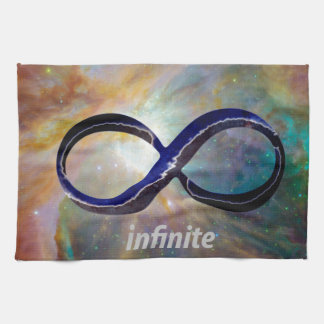 Símbolo del infinito paño de cocina