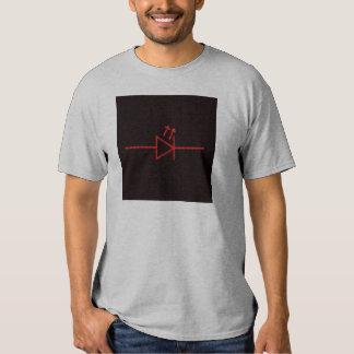 Símbolo del LED Camiseta