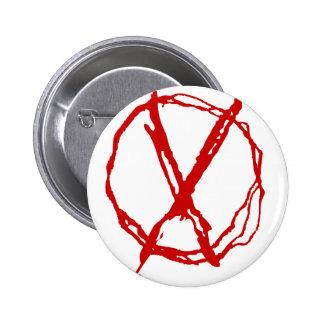 Símbolo del operador chapa redonda de 5 cm