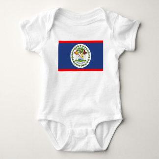 Símbolo del país de la bandera de Belice Body Para Bebé