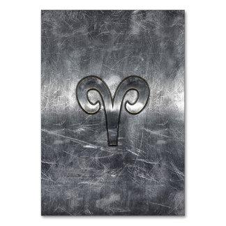 Símbolo del zodiaco del aries en estilo apenado