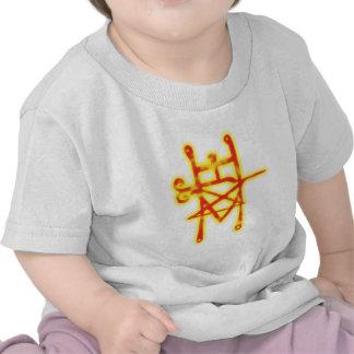 Símbolo demonio demon Astaroth Camisetas
