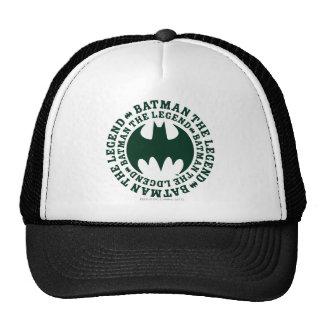 Símbolo el   de Batman el logotipo de la leyenda Gorras