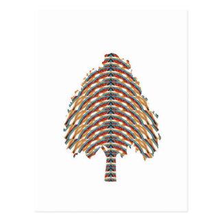 Símbolo ELEGANTE del árbol:  Colores metálicos STO Postales