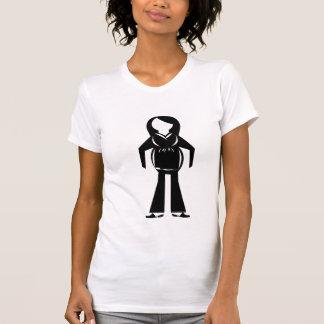 símbolo embarazada camisetas