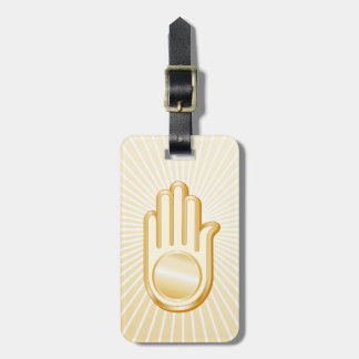 Símbolo Jain Etiqueta Para Maletas