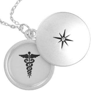 Símbolo médico de cuidado grímpola