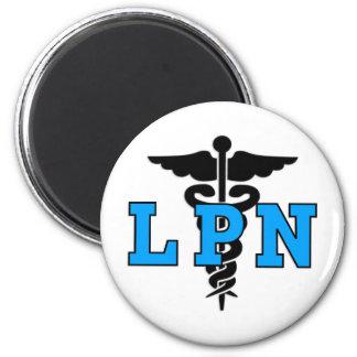 Símbolo médico de LPN Imán Para Frigorífico