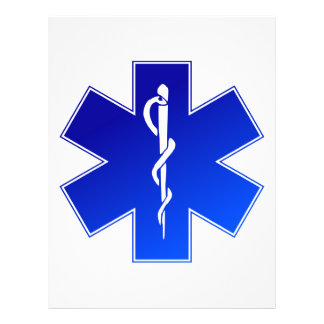 Símbolo médico del ccsme folleto 21,6 x 28 cm