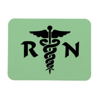 Símbolo médico del RN Imán
