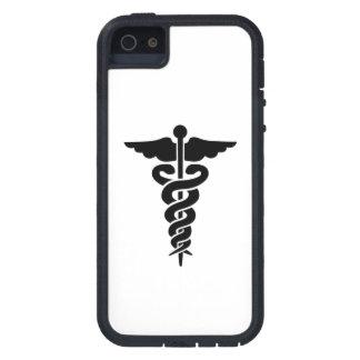 Símbolo médico iPhone 5 protectores