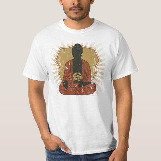 Símbolo Meditating de Buda OM Camiseta
