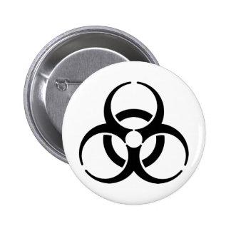 Símbolo nuclear chapa redonda de 5 cm