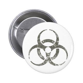 Símbolo nuclear del vintage pin