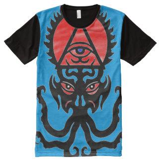 Símbolo oculto del triunfo de Hephzibah Camiseta Con Estampado Integral